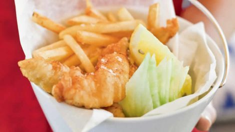 Fish & chips Recette WW