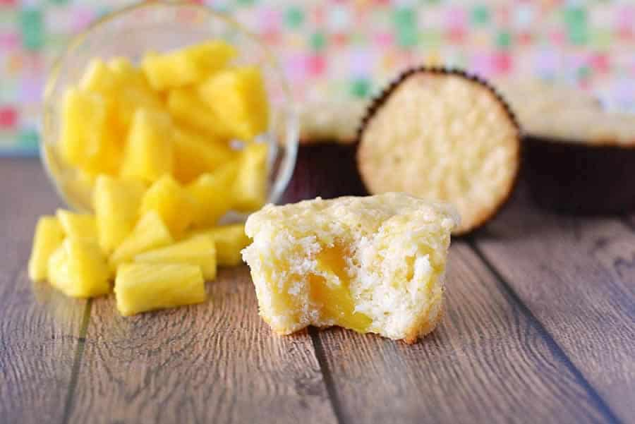 Muffins à l'ananas sans beurre au thermomix