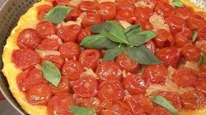 Tarte Tatin de tomates et d'échalotes au thermomix