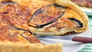 Tarte aux aubergines au thermomix