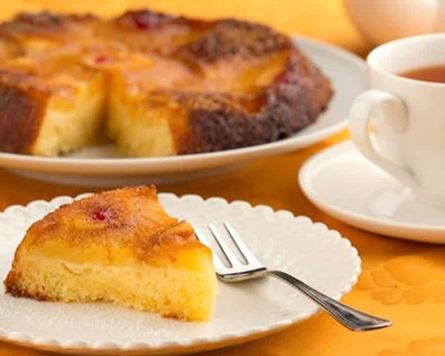 Gâteau à l'ananas et au lait de coco au thermomix