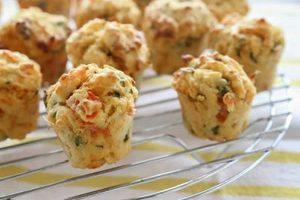 Muffins aux lardons et oignons au thermomix