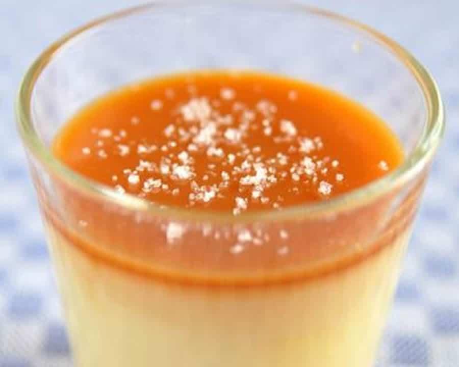 Crème Dessert Caramel Au Beurre Salé Au Thermomix Recette Thermomix