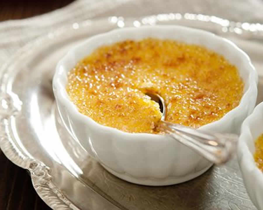 Crèmes brûlées ananas-coco au thermomix