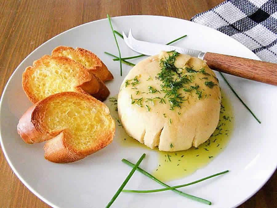 Féta fromage vegan fait maison au thermomix