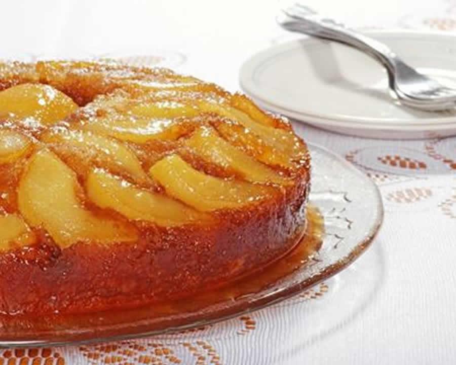 Gâteau Renversé aux Poires au thermomix