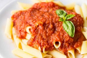 Pasta au Sauce Napoli Recette WW Smart Point