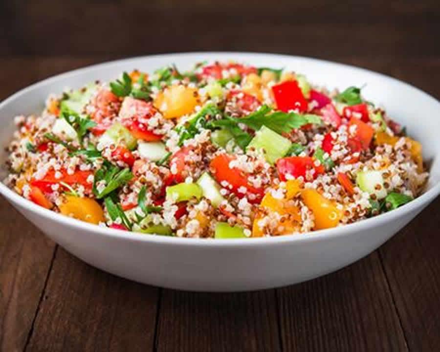 Salade quinoa et feta au thermomix