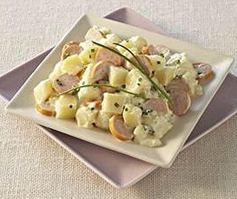 Salade strasbourgeoise au thermomix