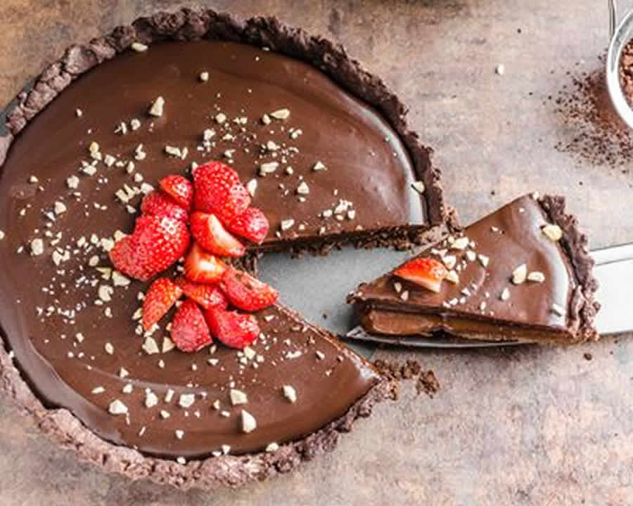 Tarte au chocolat Recette WW Smart Point