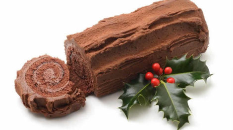 Bûche au chocolat facile au thermomix