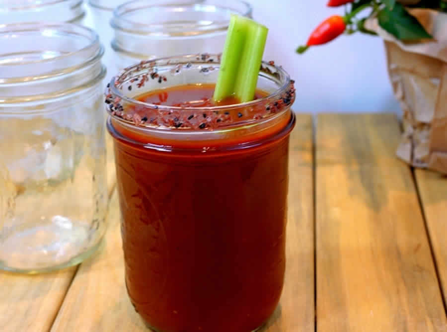 Cocktail Bloody Mary au thermomix