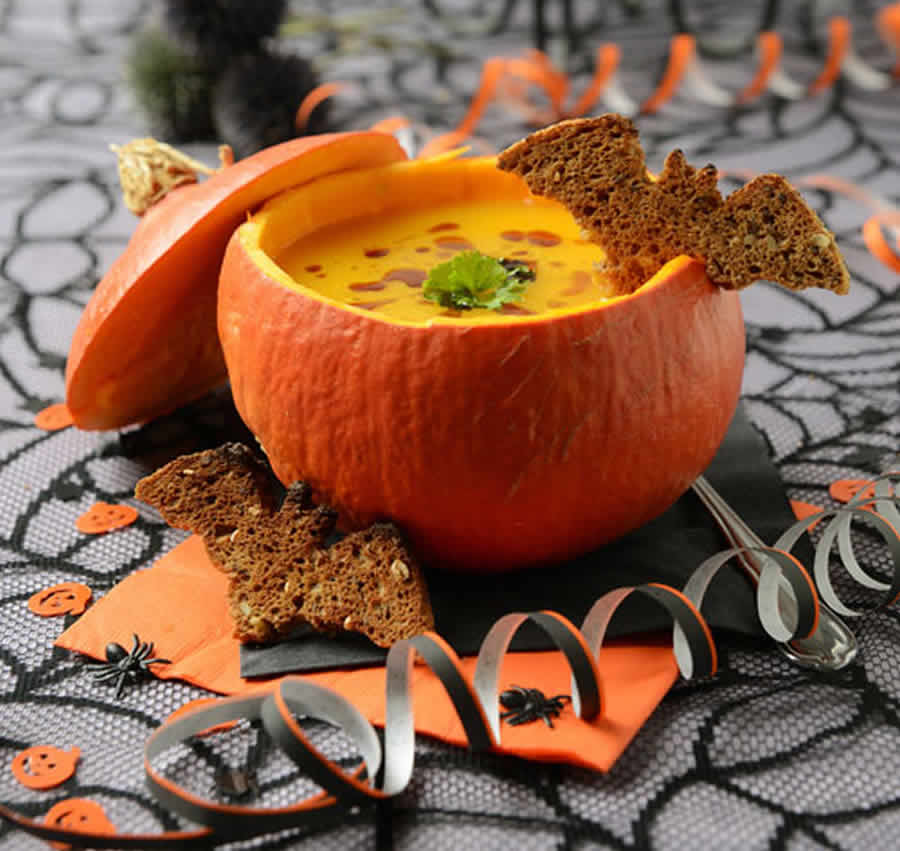 Soupe d'Halloween au thermomix