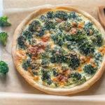 Tarte aux brocolis et roquefort au thermomix