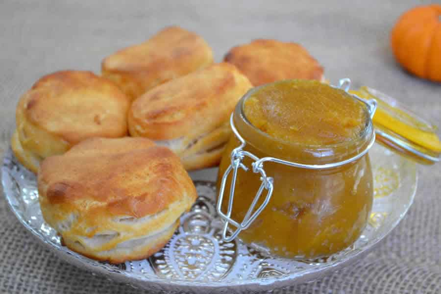 Confiture potiron à l'orange au thermomix
