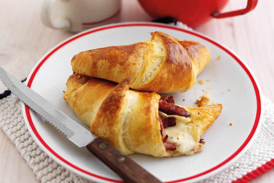 Croissant au bacon au thermomix