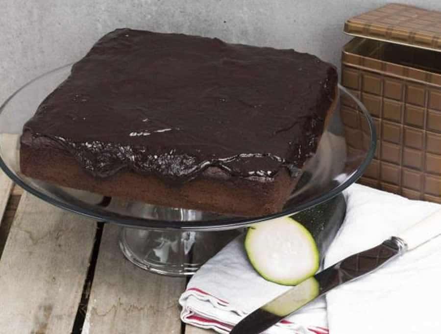 Gâteau au chocolat à la courgette au thermomix
