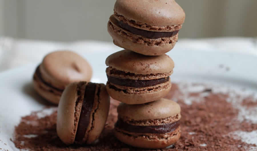 Macarons au chocolat au thermomix