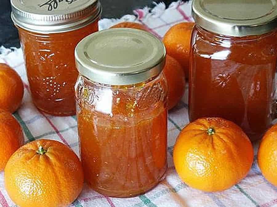 Marmelade de clémentines aux épices au thermomix