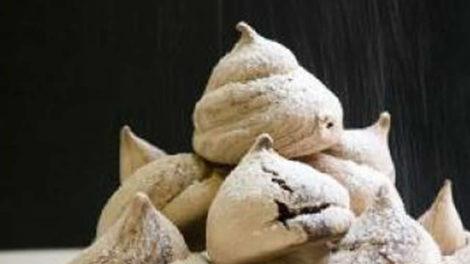 Meringues italienne au chocolat au thermomix