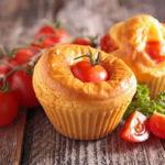 Mini Clafoutis aux tomates au thermomix