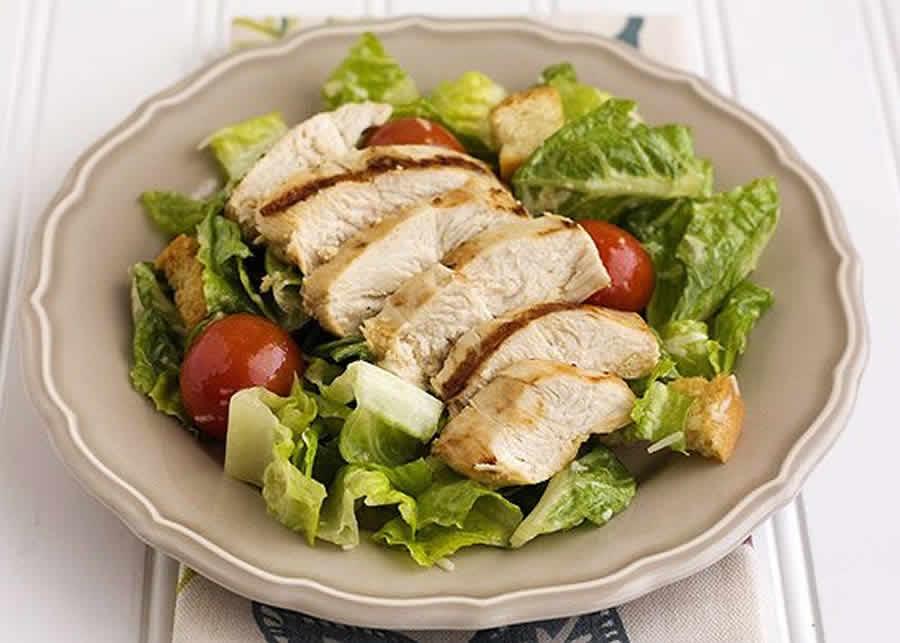 Salade Caesar au poulet Recette WW