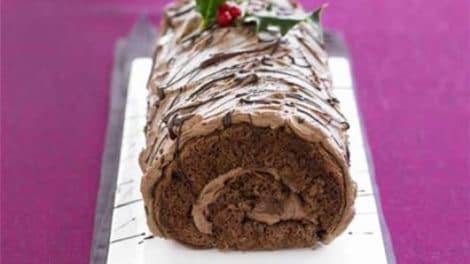 Bûche de Noël au chocolat au thermomix