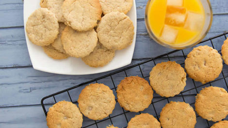 Biscuits aux agrumes au thermomix