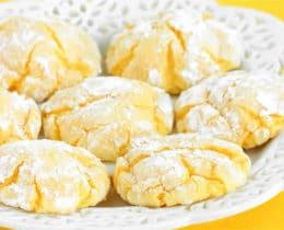 Biscuits moelleux au citron au thermomix