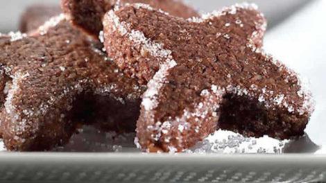 Brunsli ou Bruns de Bâle Biscuits de Noël au thermomix