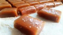Caramels mous au beurre salé de Noël au thermomix