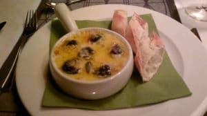 Cassolette d'escargots à la crème d'ail au thermomix