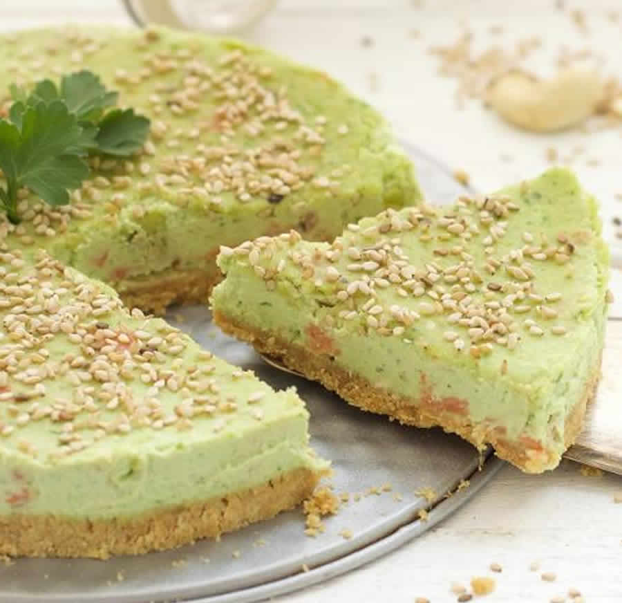 Cheesecake avocat et saumon au thermomix