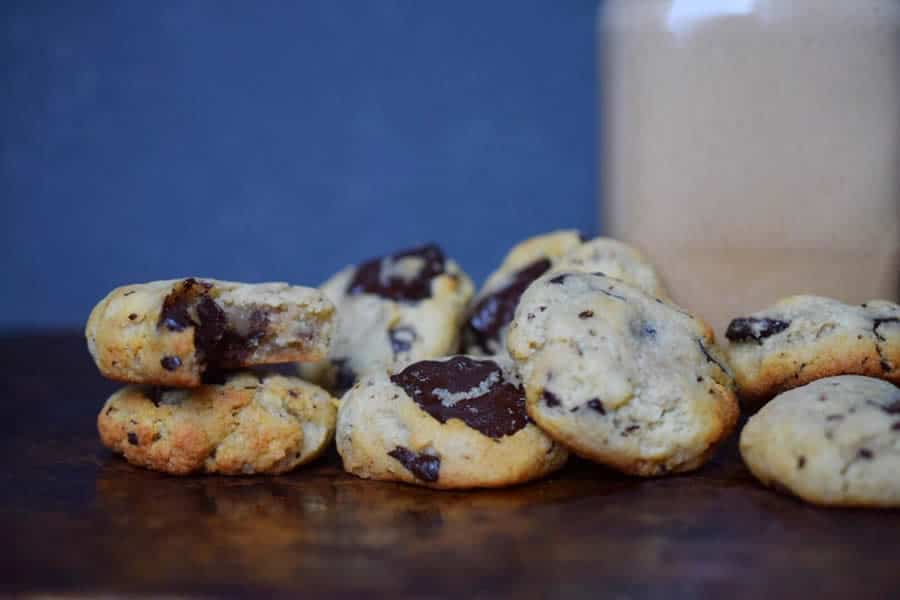 Cookies moelleux au chocolat fondant au thermomix