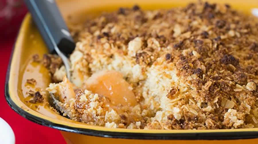 Crumble aux coings au thermomix