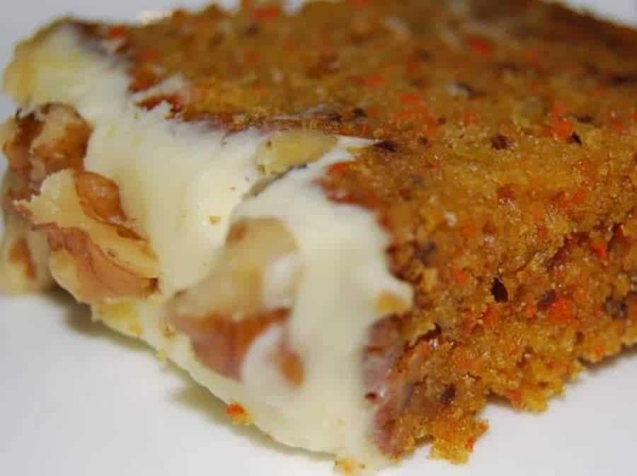 Gâteau aux carottes et aux noix au thermomix
