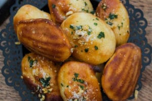 Madeleines aux courgettes et parmesan au thermomix