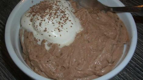 Mousse à la crème de marrons au thermomix