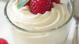 Mousse de mascarpone à la vanille au thermomix
