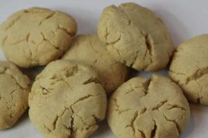 Petits sablés au beurre de cacahuètes au thermomix
