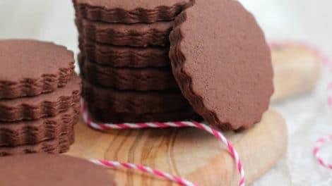 Sablés de Noël au chocolat Nesquik au thermomix