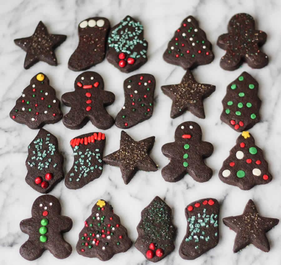 Sablés de Noël au chocolat au thermomix
