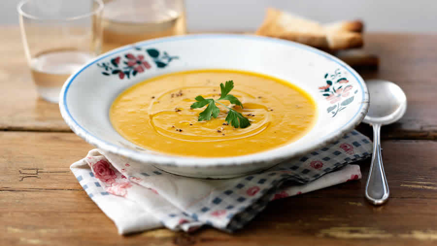 Soupe de légumes au thermomix