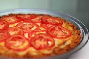 Tarte au tomate et thon au thermomix