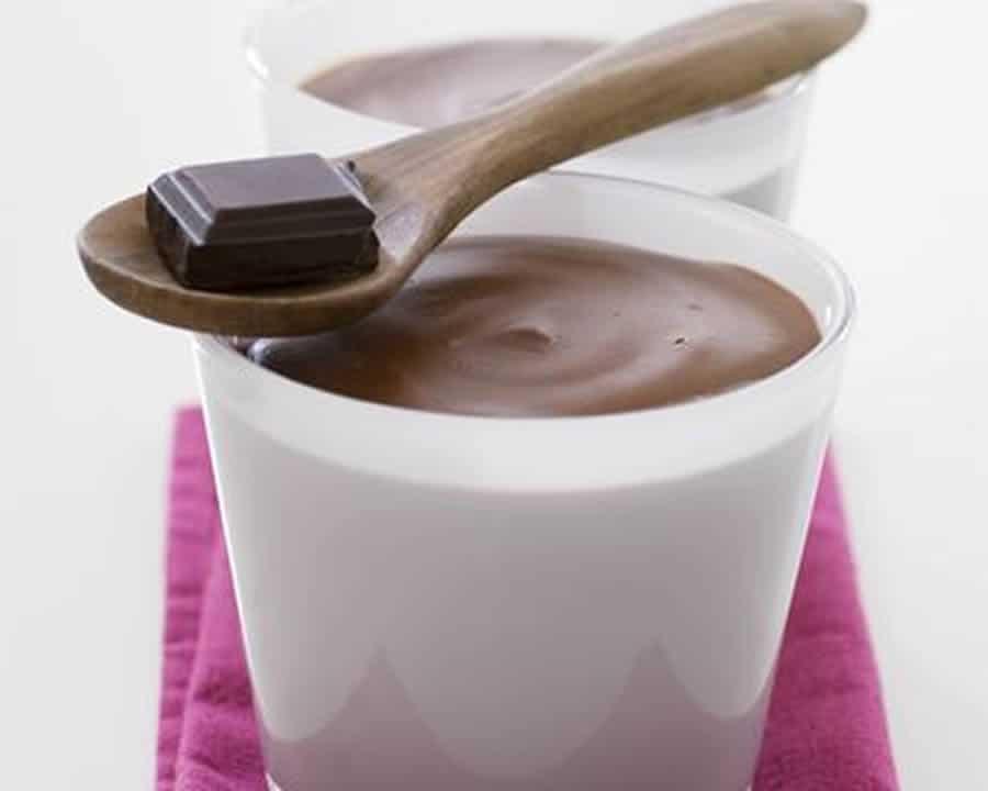Crème dessert au chocolat praliné au thermomix