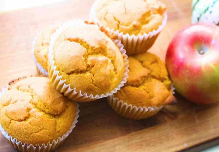 Muffins aux pommes au thermomix