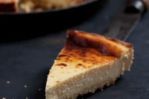 Tarte au fromage blanc au thermomix