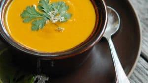 Velouté de carottes au thermomix