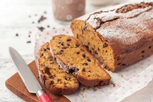 Cake sarrasin aux pépites de chocolat au thermomix