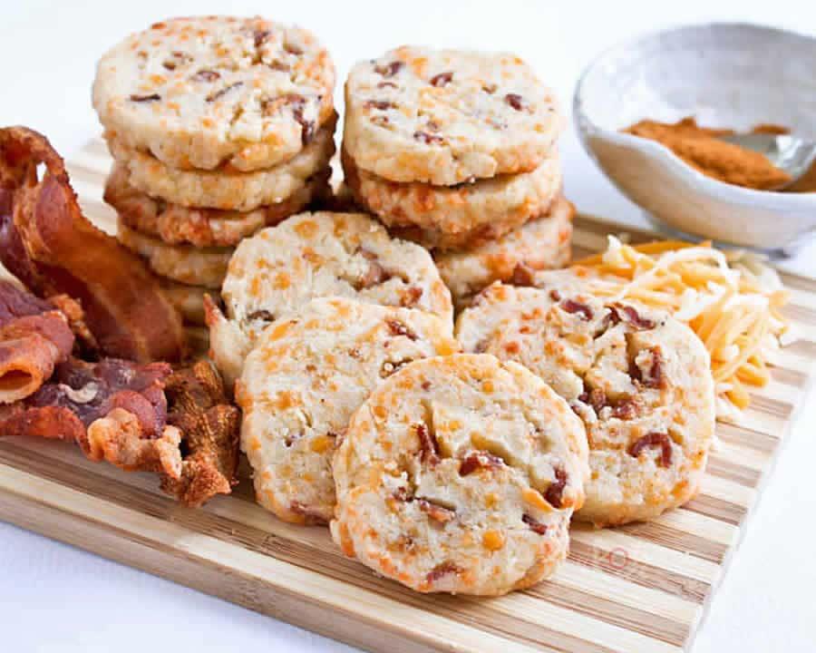 Cookies aux lardons et gruyère au thermomix